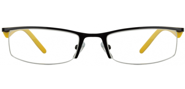 Vincent Chase VC 6309 Black Yellow 10GO Eyeglasses